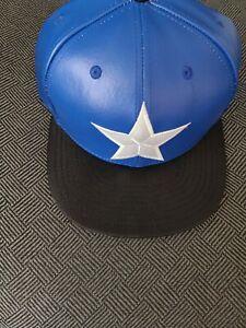 Captain America Men's New Era 59FIFTY Marvel Comics Character Suit Hat Cap 7 3/4