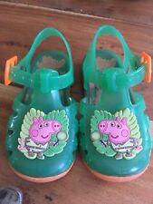 Infants Girls Peppa Pig Jelly Shoes Size Uk 5