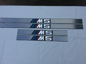 Car door sills thresholds BMW E34 M5
