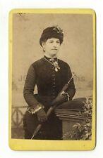 19th Century Fashion - 1800s Carte-de-visite Photo - J.B. Smith of Nottingham