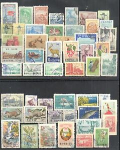 Korea 53pc old  stamps collection