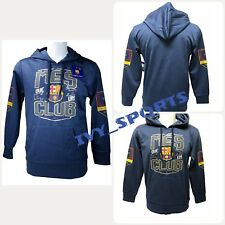 FC Barcelona Mes Que Un Club Pullover Hoodie Sweater (Size L)