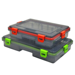 Waterproof Plastic Tackle , Fishing Tackle Storage Box, Fish Hook Outdoor