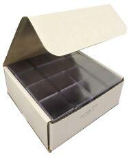 1000 Archival 2x2 Frame A Coin UN Unplasticized Semi Rigid Flips Vinyl 2 Pocket