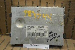 1996 Isuzu Rodeo 2.6L Engine Control Unit ECU 8162440390 Module 733-10c1