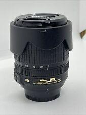 O737 Nikon AFS AF-S 18-105mm F3.5-5.6 AF-S DX VR IF ED ZOOM LENS-G funziona bene