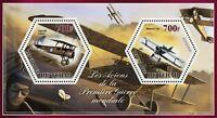 Chad World War I Airplane Plane Sopwith Roland Souvenir Sheet Mint NH