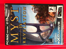 Myst IV Revelation NEW UK PC/MAC DVD-rom5031366016027Windows 98SE/Me/2000/XP/x64