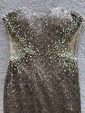 Le Femme Sequin Gold Gown