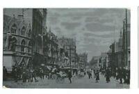 Postcard Cardiff St Mary Street Animated Scene 1905 Western Mail Glamorgan