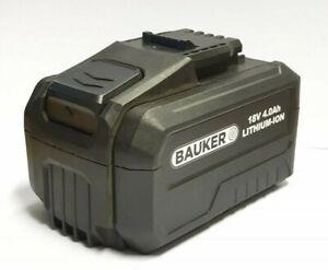 New Bauker Ferrex Cordless 18V 4.0ah battery, ABP118W2, ABP118W2 power washer