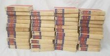 Collection de 43 Rigide Housse First Edition Zane Gris Livres