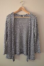 Divided H&M Black and white polka dot knit Sweater Cardigan Size XS