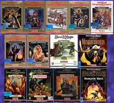 AD&D SSI GOLD BOX Collection 13 GAMES +1Clk Windows 10 8 7 Vista XP Install