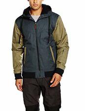Light Herren Jacke Winterjacke Outdoor, Brighton Shell Jacket, Anthra/Olive, XS