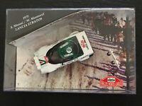 "Skid 1/43 SMC011 Lancia Stratos "" Alitalia "" Monte Carlo Rallye 1975 - Brand New"