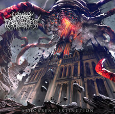 VISIONS OF DISFIGUREMENT (UK) ‎– Abhorrent Extinction CD 2017 (Brutal Death)