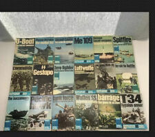 Lot of 18 WEAPONS BOOKS Ballantine's Illustrated History of WWII Violent Century