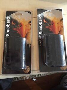 Lot Of 2 F16 SideBreak Scabbard Black .. Free Shipping