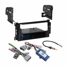 Car Radio Stereo DIN Dash Kit Harness Interface for 2004-08 Chrysler Dodge Jeep