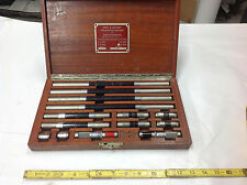 Complete Set Pratt & Whitney Precision End Measure & Inside Micrometer in Box