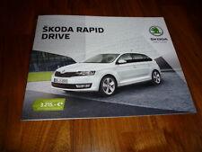 Skoda Rapid DRIVE Prospekt 12/2016