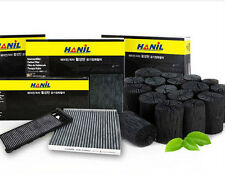 Charcoal activated carbon cabin air filter For Hyundai Santafe CM (2005~2007)///