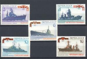 Russia 1973 SG 4209-13 Navy Ships MH