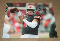 JUSTIN FIELDS SIGNED AUTOGRAPHED OHIO STATE BUCKEYES 8X10 PHOTO 1(PROOF) HEISMAN