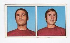 figurina CALCIATORI PANINI 1970/71 LIVORNO BRUSCHINI, CALVANI