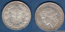 Suisse - 5 Francs 1889 Argent TTB Very Very Fine - Swiss Helvetia 225000 Exempla
