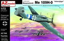 AZ Models 1/72 Kit 7540 Messerschmitt Bf-109H-0 Hohenjager !