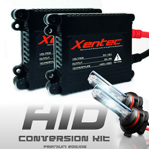 Dodge Magnum Headlight Fog Light HID Conversion Kit 9005 9006 H10 Slim Xenon 6K