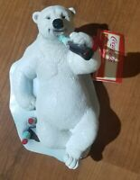 1996 Pentech Coca Cola Polar Bear 10 Color Ball Pen Pink MOC