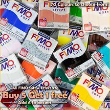 FIMO Effet & Doux Four Modelage Argile 57g - Acheter 5 Gagnez 1 Sans - 70