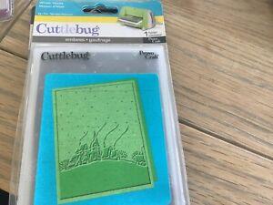 Cuttlebug embossing folder