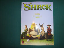 Shrek 2002, Songbook Sheet Music Song Book - Piano/Vocal/Guitar Format
