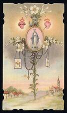 santino-holy card*ediz.NB n.3089 MADONNA DELLA MEDAGLIA MIRACOLOSA