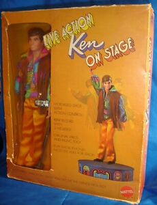 HTF 1970 Live Action Ken on Stage with Tag, Box and All Accessories!
