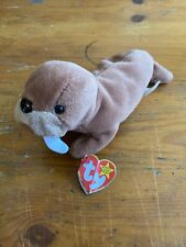 """Ty Beanie Baby Collection """"Tusk� The Walrus 1995 Ori 00006000 ginal With Tag"""