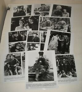 1990 BACK to the FUTURE PART III LOT of 11 PROMO MOVIE PHOTOS MICHAEL J FOX
