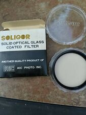 Soligor 62 Solid Optical Glass Coated Filter W2