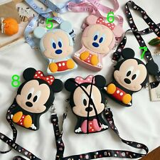 Kid Cartoon Silicone Coin Cross Body Bag - Super Cute and Soft