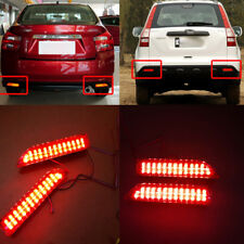 2x LED Bumper Lens Reflector Brake Tail Turn Park Light For 2007-2009 Honda CR-V
