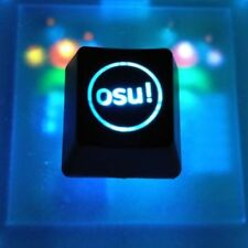 Single Osu! Backlit Mechanical Keyboard ABS Keycap Keypad