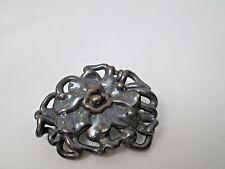 David Varsano Israel Sterling Silver Flower Brooch Pin