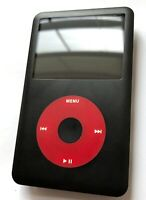 Apple iPod Classic 7th Generation 120GB Custom Red Black U2 Edition New Warranty
