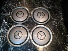 "Mercedes Benz W124 W201 15"" Hub Caps wheel trims   1244010924"