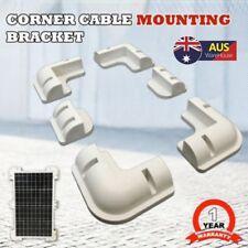 Solar Panel Corner Mounting Brackets Kit for Caravan Boat Vehicle Roof Mount Set