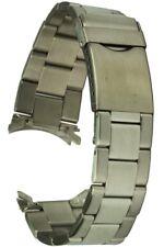 Edelstahluhrarmband 20 mm Sicherheitsfaltschliesse Uhrband Ersatzband
